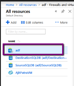 """Azure: Error while connecting to Azure SQL Server """"Cannot"""