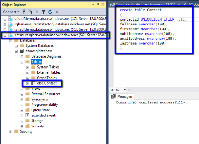 Azure: Copy Data from D365 CE to Azure SQL Database using